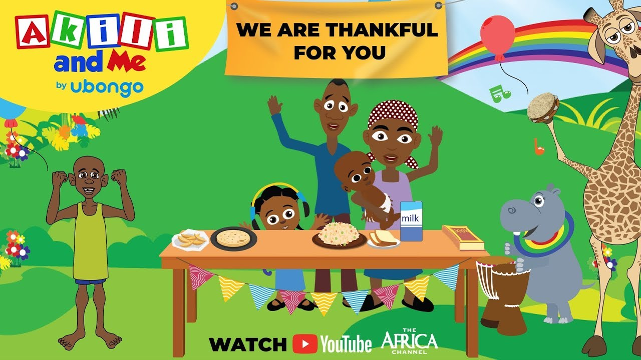 Akili's Thanksgiving Special! | Please, Thank you and Sorry |  | Cartoons from Africa