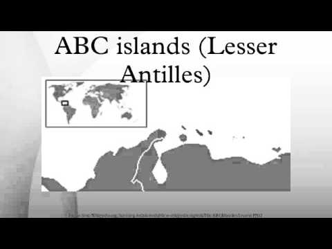 ABC islands (Lesser Antilles)