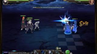 naruto online sage world battlefield midnight blade darui chojuro and ningendo