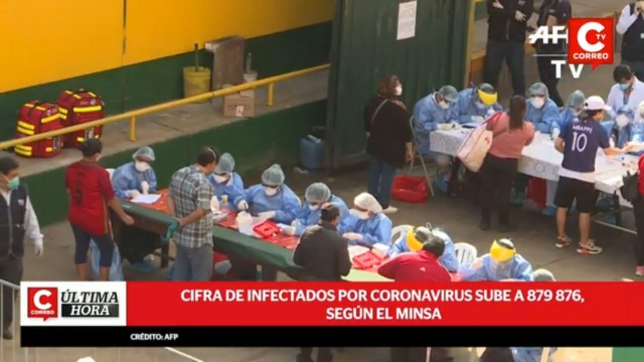 Coronavirus Perú: Se registran 47 fallecidos en las últimas 24 horas