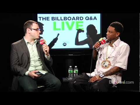 """Soulja Boy on the new album, """"Dre"""" (Q&A Part 1/8)"""