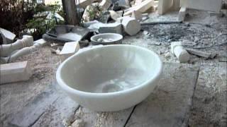 EAST-FAMILY - Výroba mramorového umyvadla