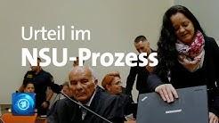 Urteil im NSU-Prozess - Sondersendung