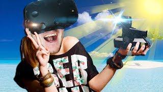 КАК СДЕЛАТЬ СЕЛФИ НА НЕОБИТАЕМОМ ОСТРОВЕ В ВР? - Lost In The Ocean VR - HTC Vive