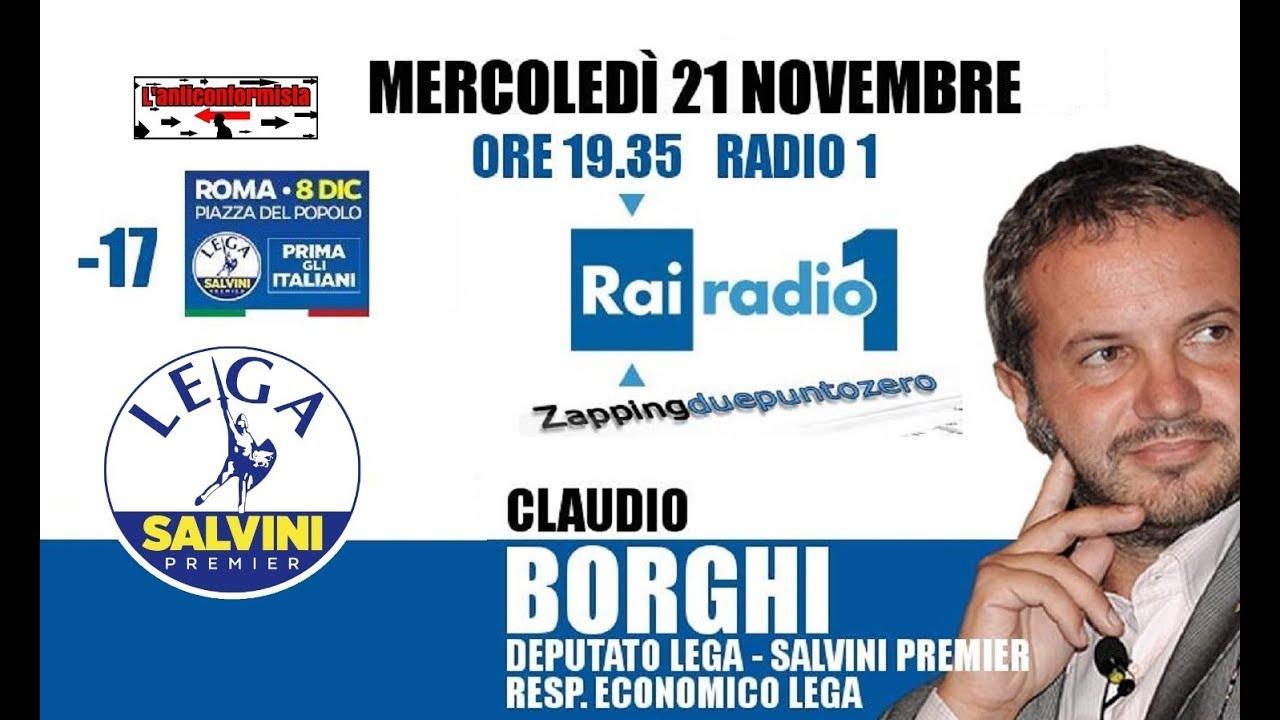 e8c2d3cd6a On. Claudio Borghi Aquilini a Radio1:
