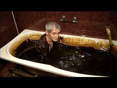 Crude Oil Spa: Health center in Azerbaijan offers customers to swim in black gold