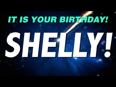 HAPPY BIRTHDAY SHELLY! This is your gift.