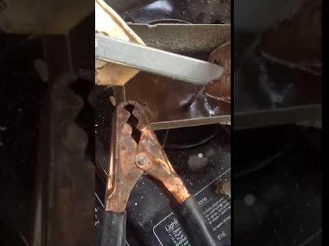 Success!  Making sodium metal