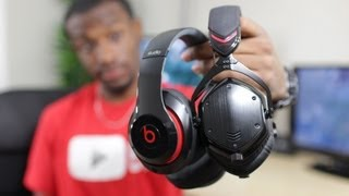 New Beats Studio vs V Moda M100 Comparison(My comparison of the New Beats Studio vs V-Moda M100. Find New Beats Studio here: ..., 2013-09-12T23:41:13.000Z)
