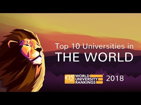 The Top 10 Universities in the World 2018