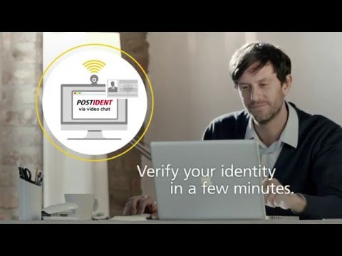 POSTIDENT via video chat – identify yourself online! | Deutsche Post