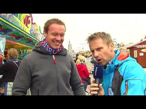 Oktoberfest 2016: Felix Loch - Rodelolympiasieger auf der Wiesn