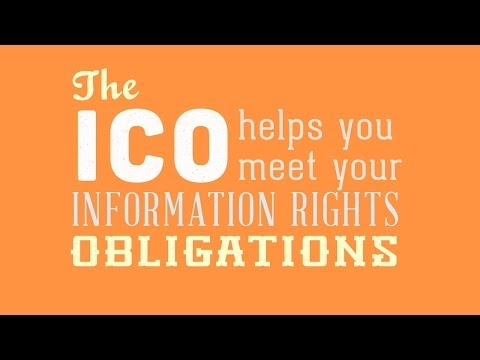 ICO information rights video for schools