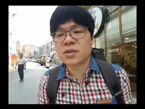 [현장] 이시우 로쌍 미성년자쓰리썸사건 목포지원 취재 - 코롬방제과 목포역 KTX [2016.06.02 촬영]