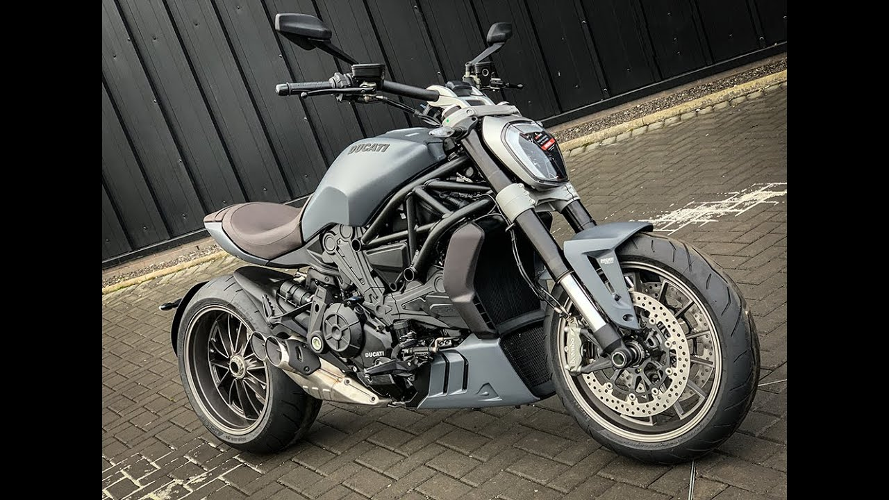 2020 DUCATI XDIAVEL | MATT LIQUID CONCRETE GREY | BROWN SEAT @ Ducati Glasgow, Scotland