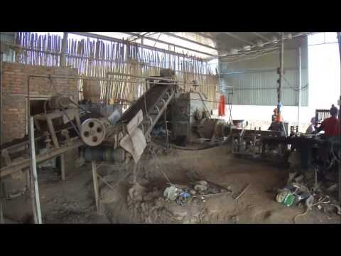 Red Brick Factory in Wuyishan, Fujian, China