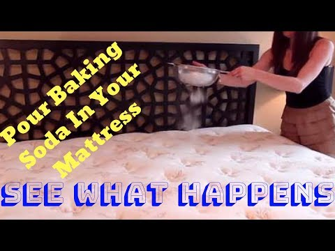 Pour Baking Soda on a Mattress and See What Happens #NATUREForHealth
