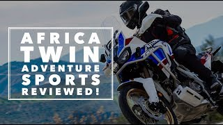 Honda Africa Twin Adventure Sports (2018) - first ride | BikeSocial