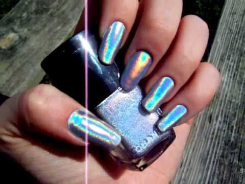 CHANEL Holographic Nail Polish - YouTube