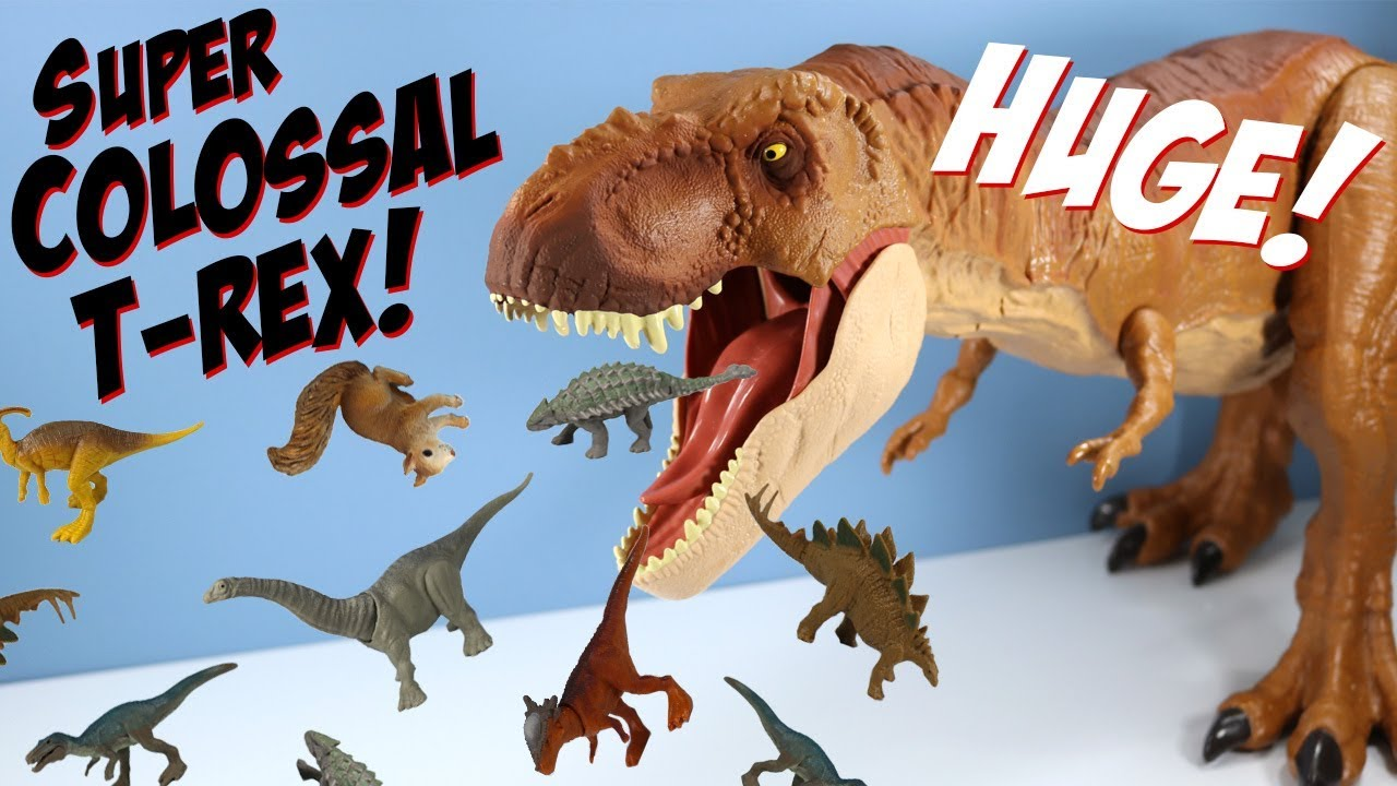 Jurassic World Fallen Kingdom Super Colossal Tyrannosaurus