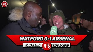 Watford 0-1 Arsenal | They Gave Us Two Gifts Our Performance Was Poor!  (Lee Judges)