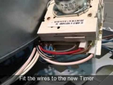 hotpoint vtd00 wiring diagram plug how to replace a timer on tumble dryer ariston creda proline youtube