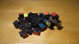 Aus wie vielen Steinen besteht der Rubik's Cube?