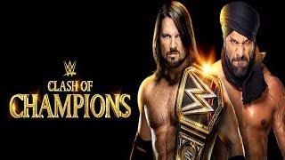 WWE Clash of Champions 2017 | LIVE ! | Full PPV Simulation | WWE 2K18