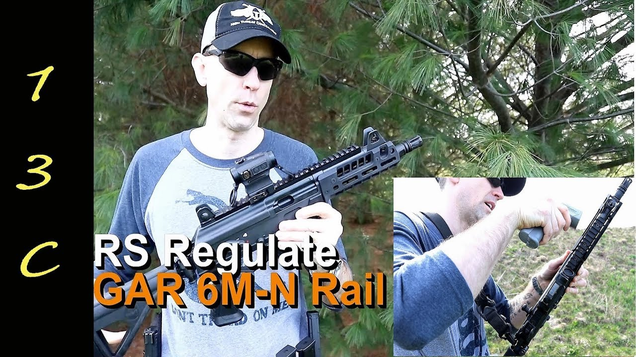 Galil ACE RS Regulate GAR rail review / heat testing
