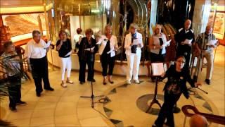 "Coral Princess Pop Choir - ""Sweet Caroline"""