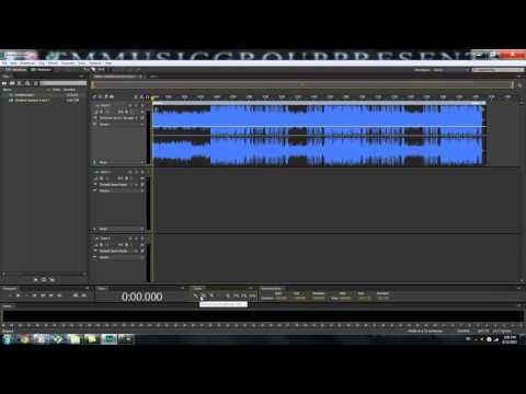 Adobe Audition CS5/CS6 Beginners Tutorial