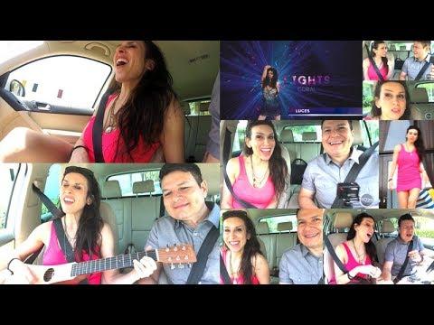 Coral Campopiano carpool karaoke en Miami Beach (Versión Larga)