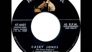 Eddy Arnold ~ Casey Jones (The Brave Engineer)