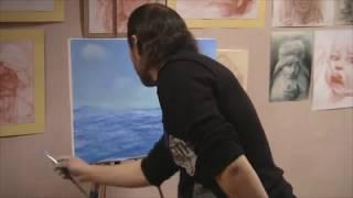 Трейлер  Семинар СОВЕТЫ НАЧИНАЮЩЕМУ ХУДОЖНИКУ Как рисовать МОРЕ Игорь Сахаров