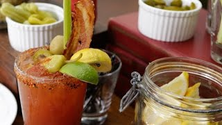Bourbon Bloody Mary Recipe | Happiest Hour