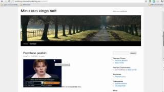 Kuidas seadistada ja kasutada Wordpressi(, 2011-03-04T15:39:53.000Z)