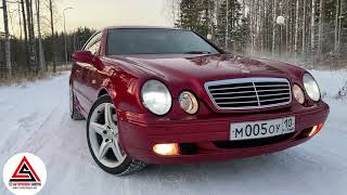 Обзор Mercedes CLK 4.3 V8 купе 1999 года
