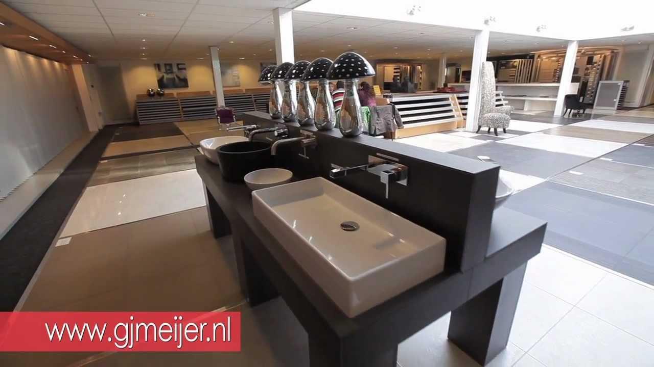 GJ Meijer Sanitair en Tegels, Almere. - YouTube