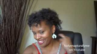 Natural Hair Styles | Bantu Knot Out With Camille Rose Almond Jai Twist Cream