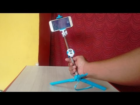 Hands On Selfie Stick with Stand & Bluetooth Remote