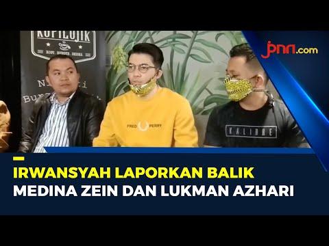 Irwansyah Siap Laporkan Balik Medina Zein dan Lukman Azhari