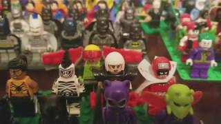 LEGO DC superheroes minifigure collection 90+ minifigs