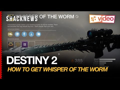 How to Get the Whisper of the Worm in Destiny 2   Shacknews