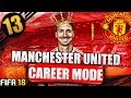 IBRAHIMOVIC RETURNS! FIFA 18 MANCHESTER UNITED CAREER MODE #13