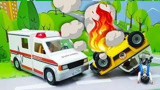 Видео для детей с игрушками Плеймобил - Доктор!