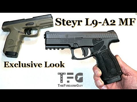 VIDEO] Exclusive Look: Review of the new Steyr L9-A2 MF