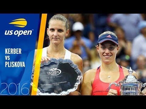 Angelique Kerber vs. Karolína Plíšková   2016 US Open Final   Full Match