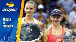 Angelique Kerber vs Karolína Plíšková Full Match | US Open 2016 Final