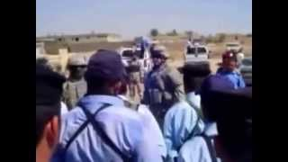 US Soldier Chews Out Iraqi Police Trainees