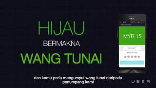Latihan Wang Tunai | Uber Driver Malaysia